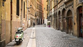 Rue du vieux lyon