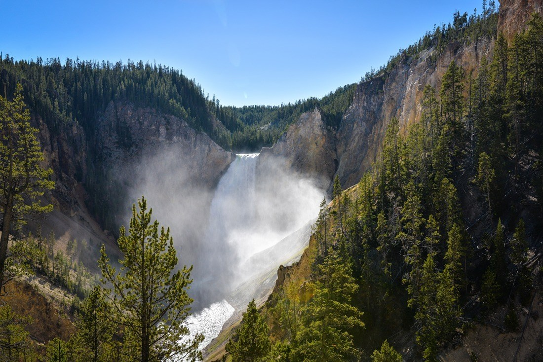 Upper Falls de Yellowstone
