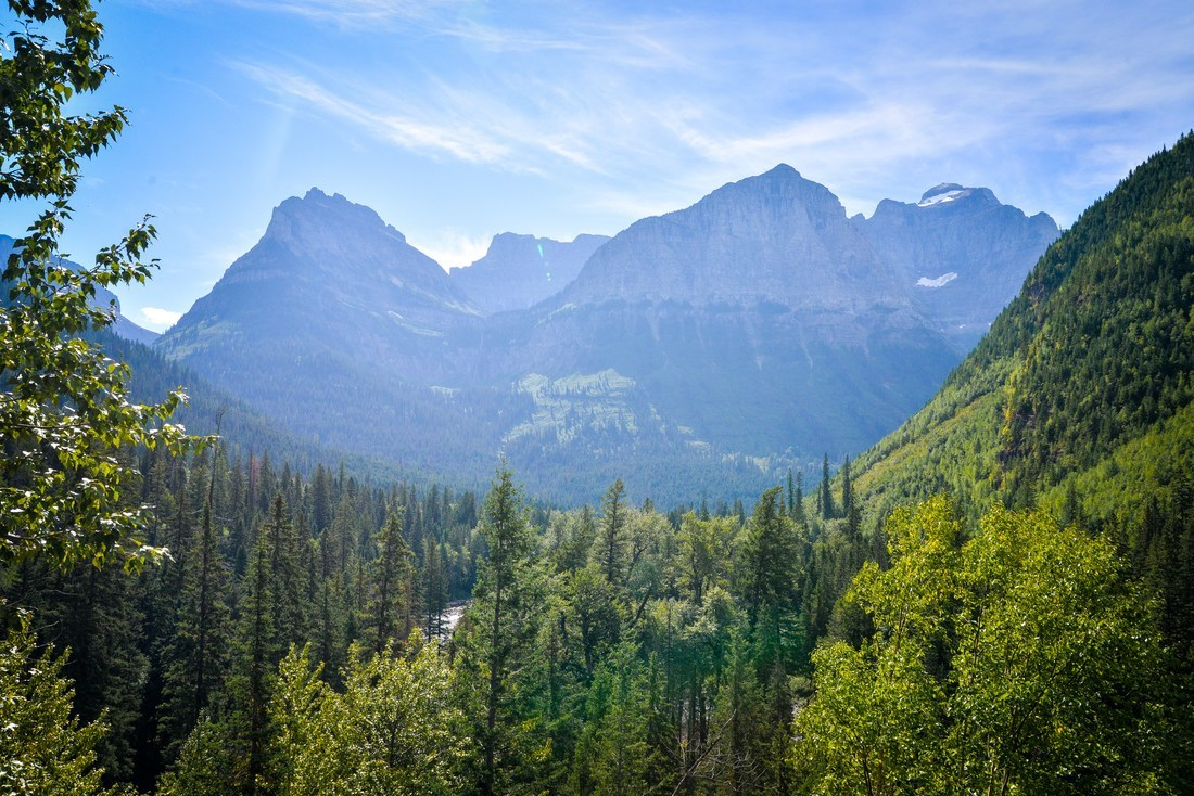 Montages de Glacier National Park