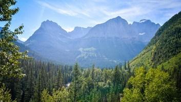 Montages de glacier national park