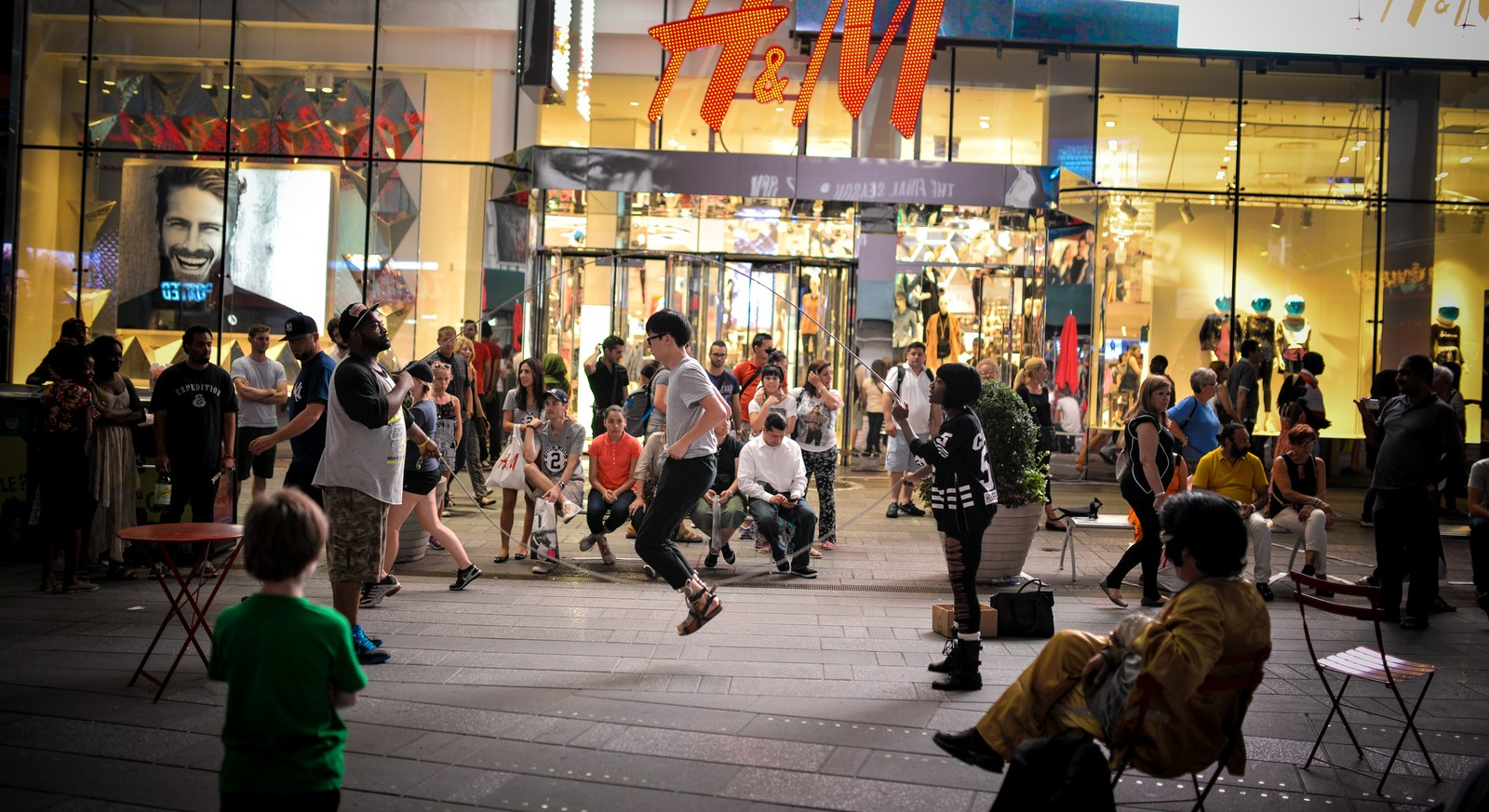 Activité à Times Square Manhattan