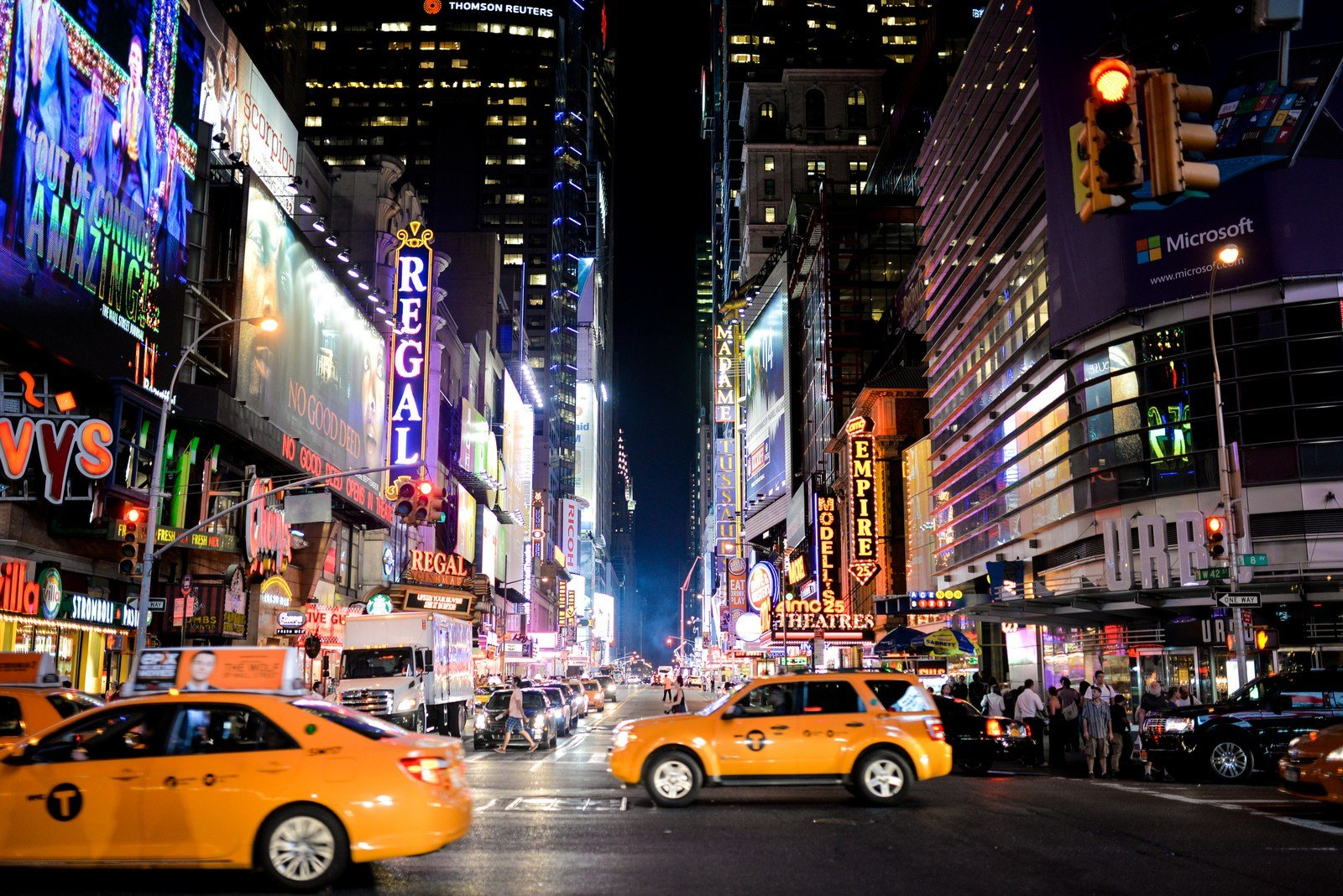 Se rendre à Times Square Times Square