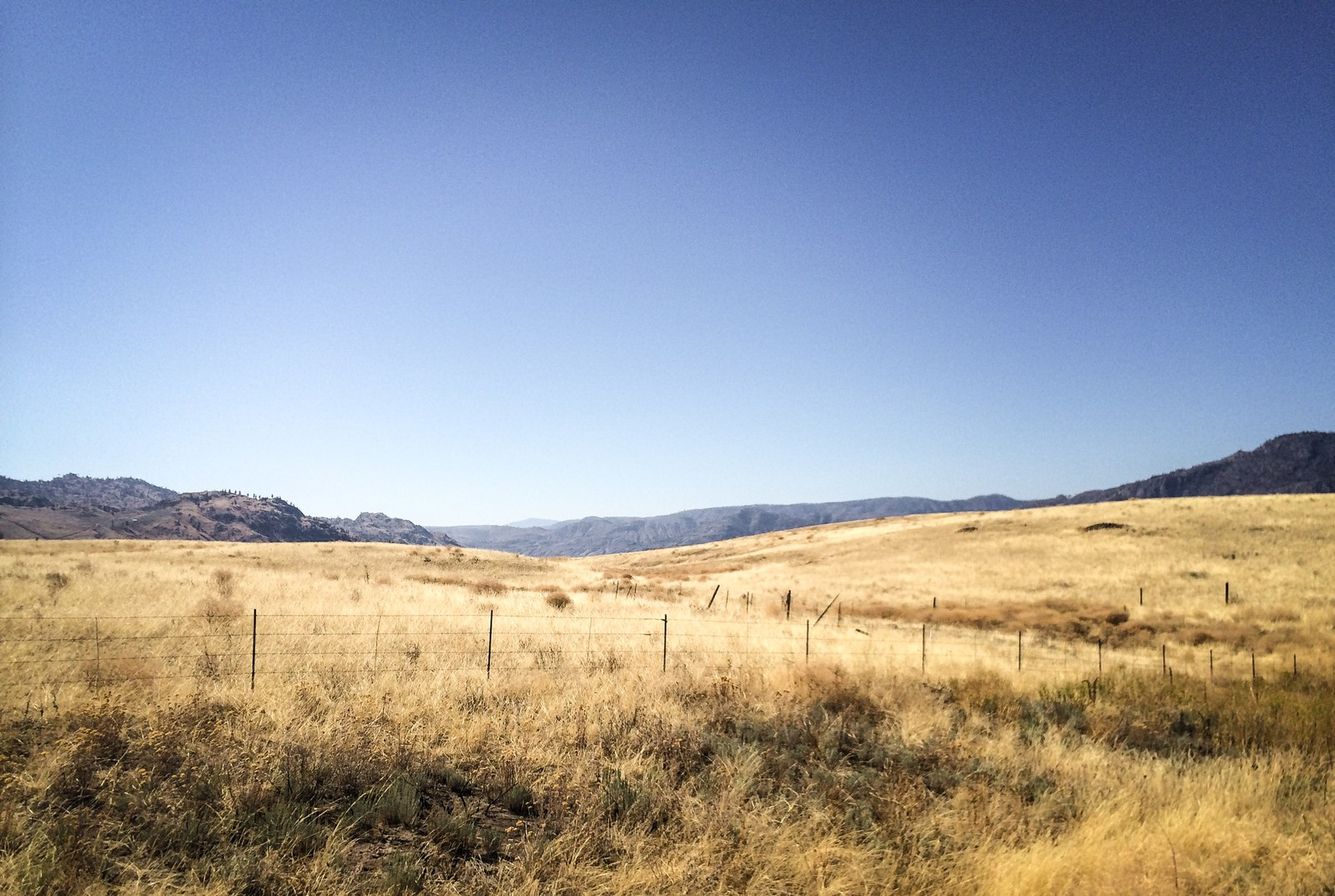Les paysages de Washington Sur les routes