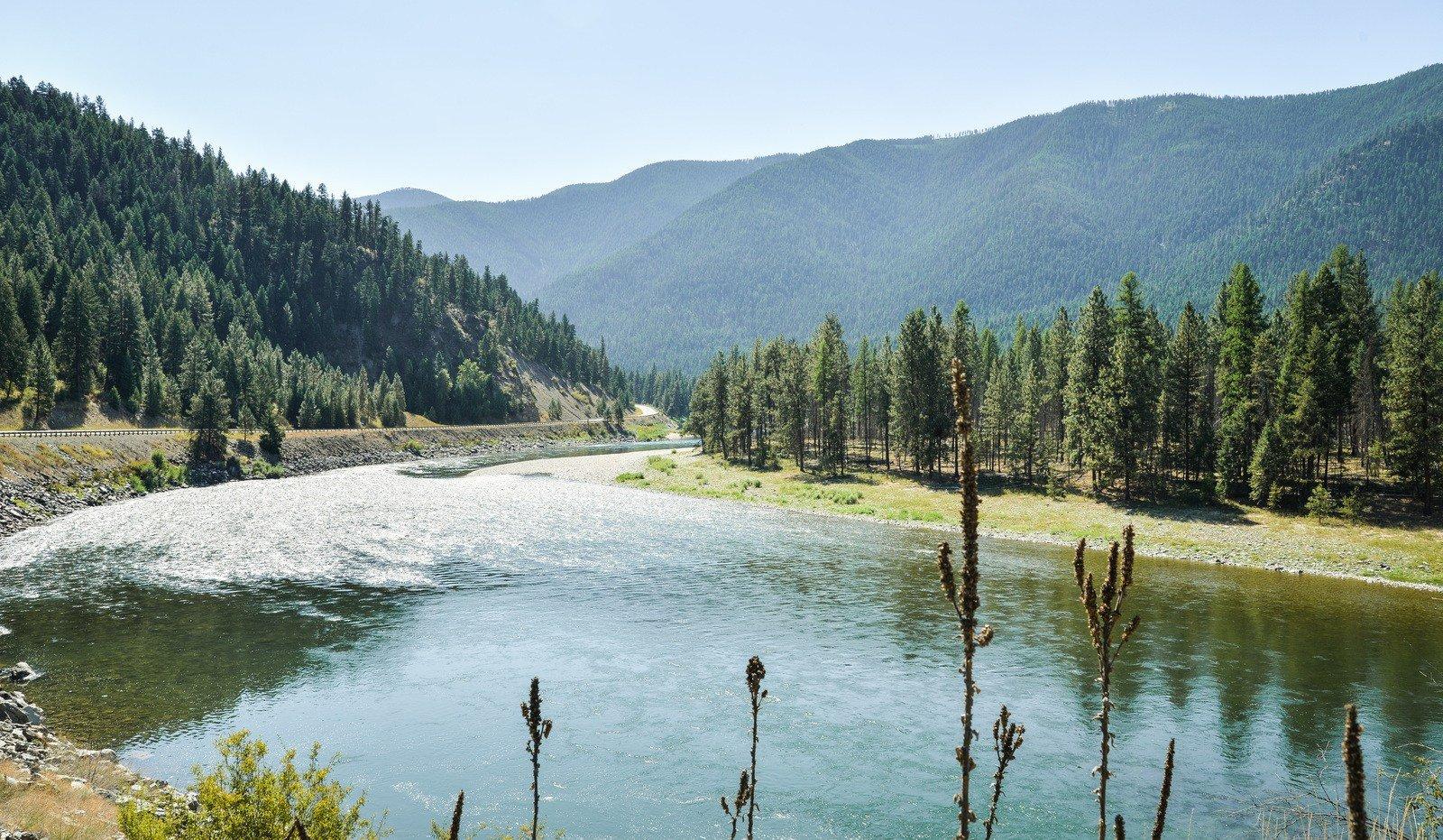 Clark Folk River (Idaho) Sur les routes