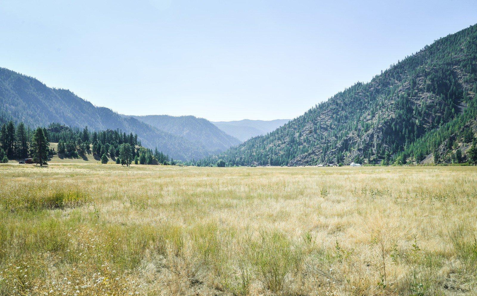 Paysage de l'Idaho, Etats-Unis Sur les routes
