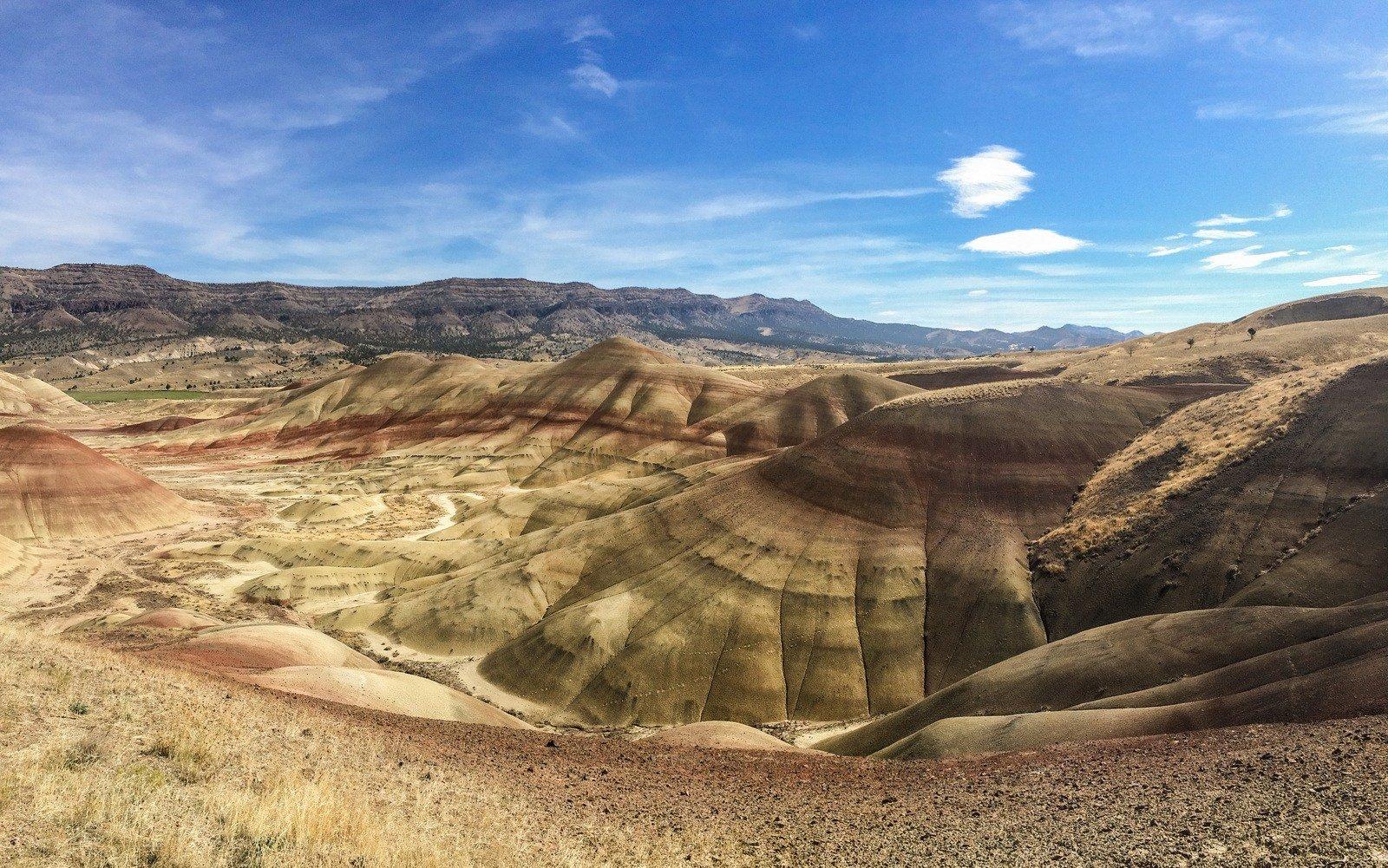 John Day Fossil Beds Et Painted Hills Dans L Oregon