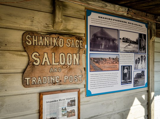 Shaniko Saloon and Trading Post