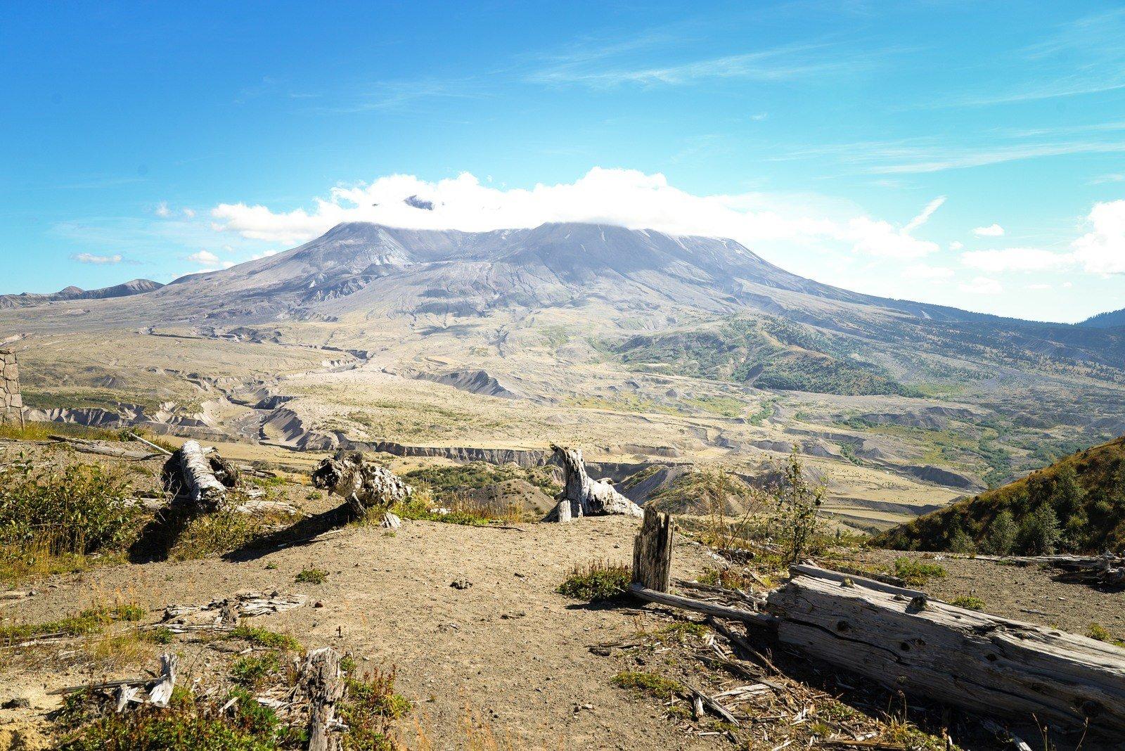 le mont st helens photos du volcan le plus dangereux des etats unis