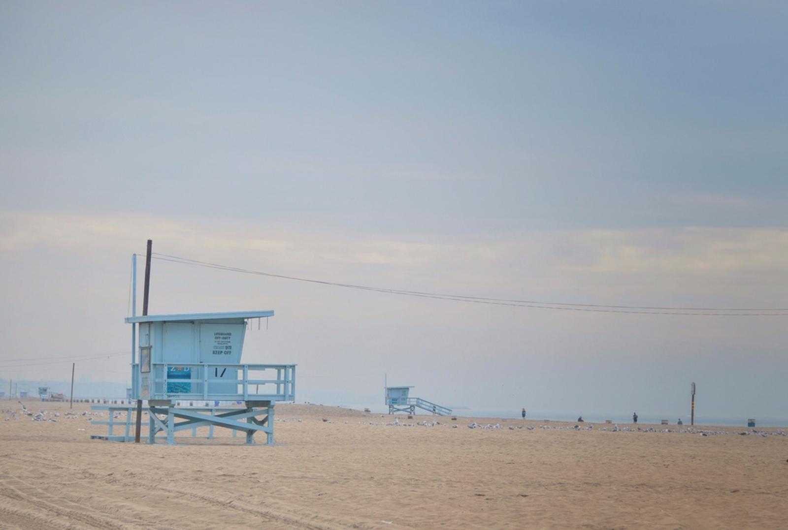 lifeguard venice beach los angeles aux etats unis. Black Bedroom Furniture Sets. Home Design Ideas