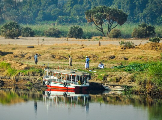 Egyptiens sur les rives