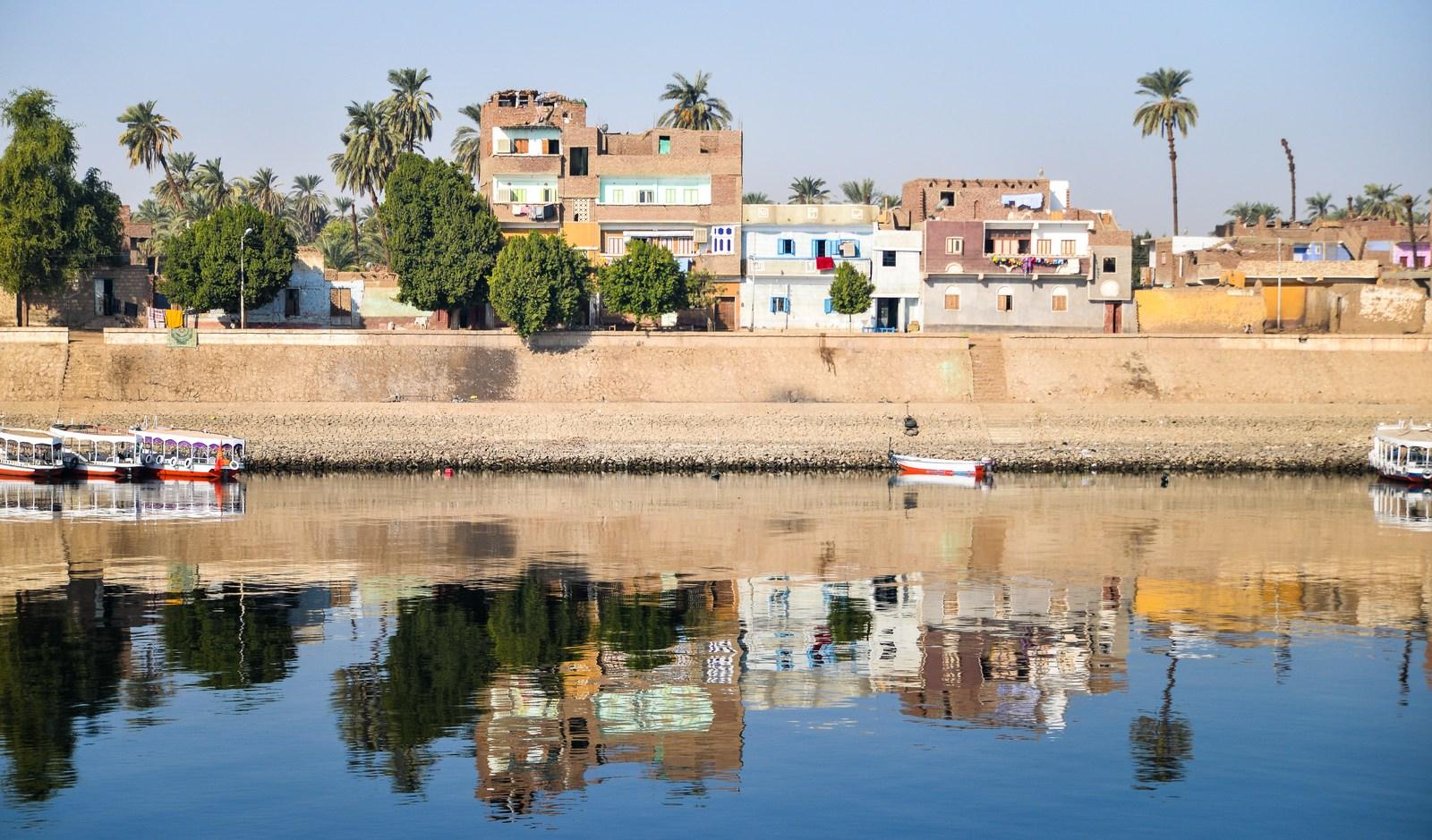 Rives du Nil Le Nil