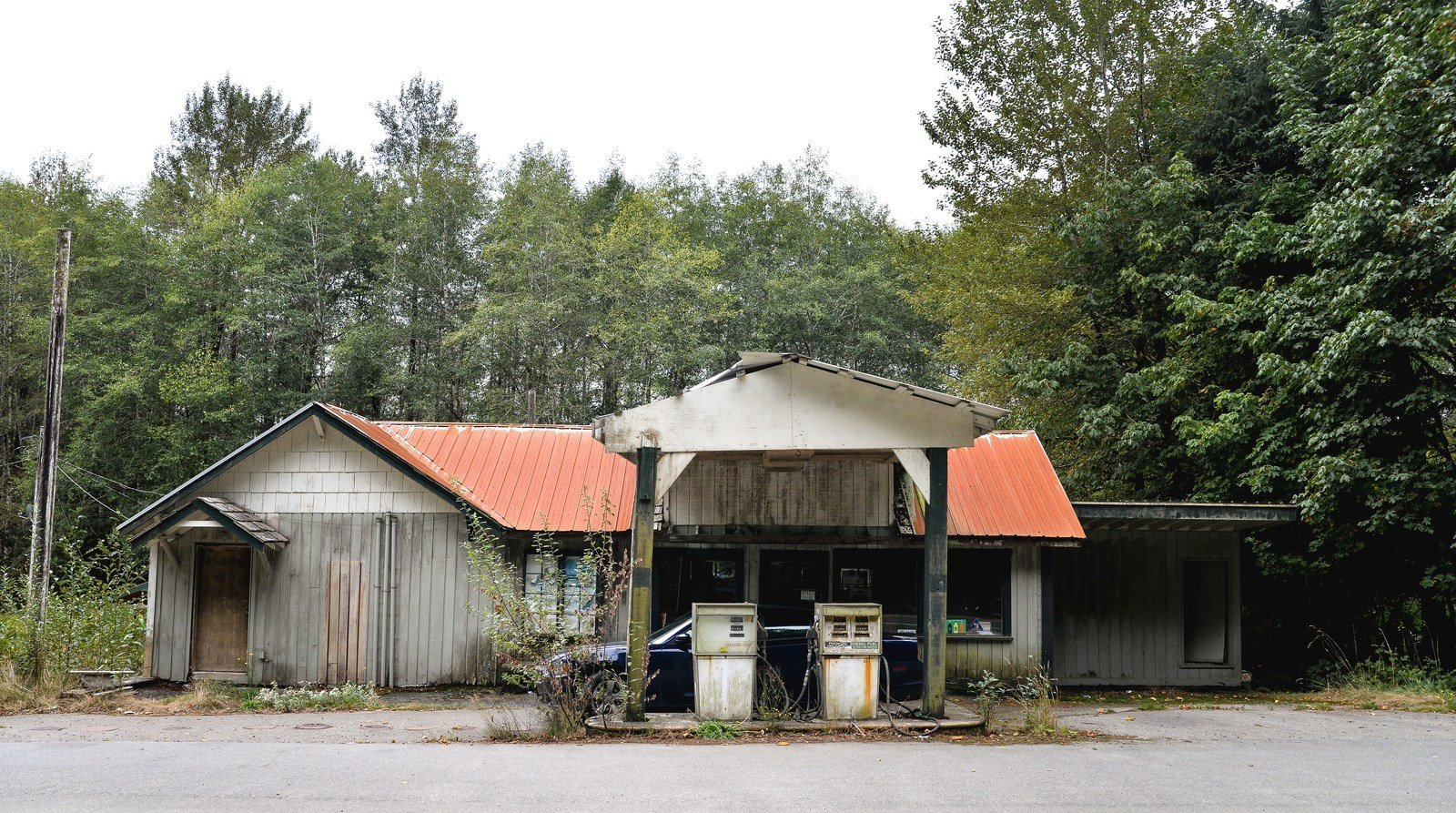 Ghost town Olympic National Park
