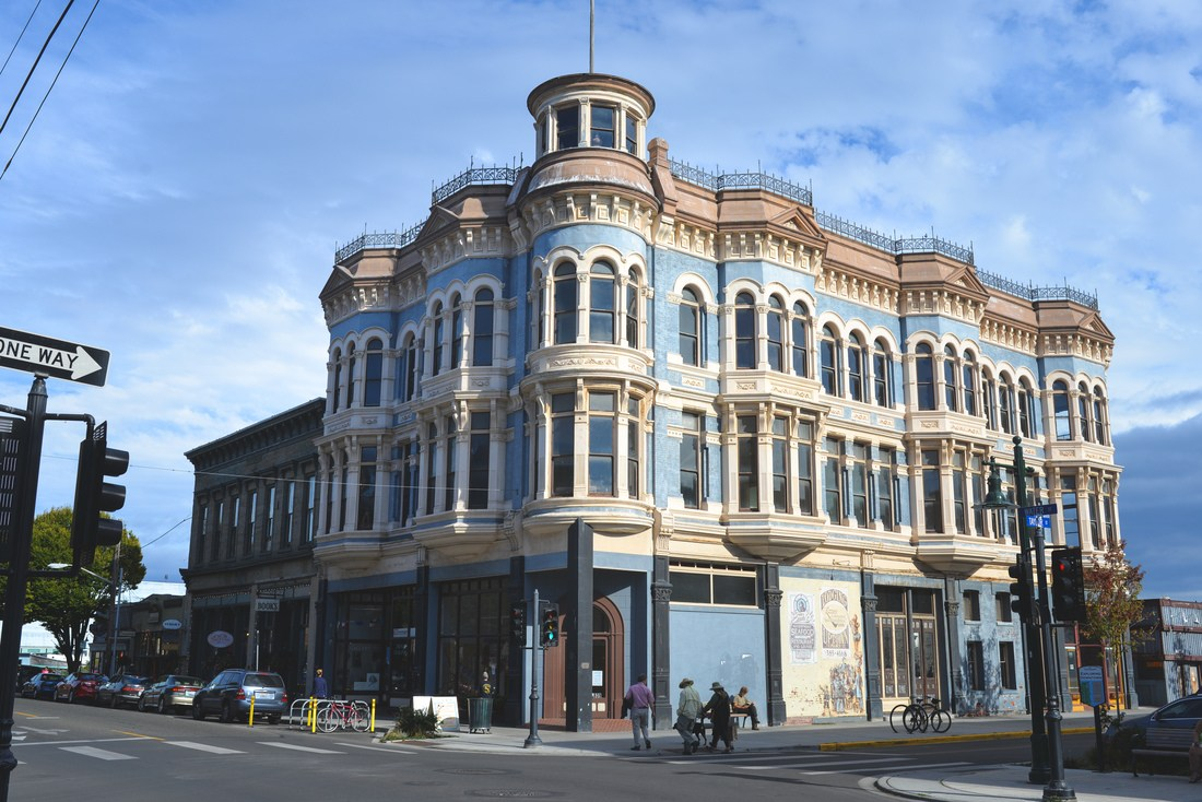 Belle architecture de Port Townsend