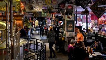 Interieur du pike pub brewery
