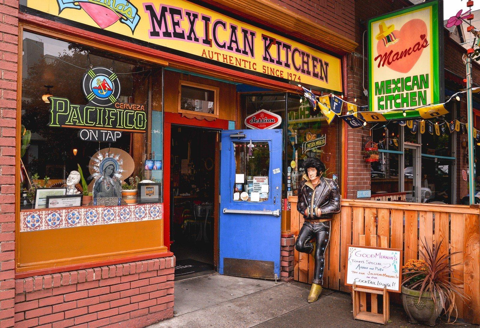 Mama 39 s mexican kitchen seattle aux etats unis for Mama s italian kitchen
