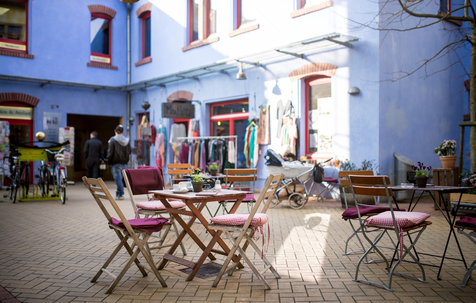 Café de Kunsthofpassage Dresde