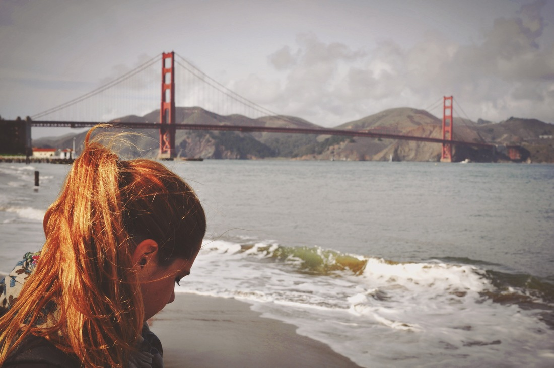 Manuelle, Golden Gate Bridge, San Francisco