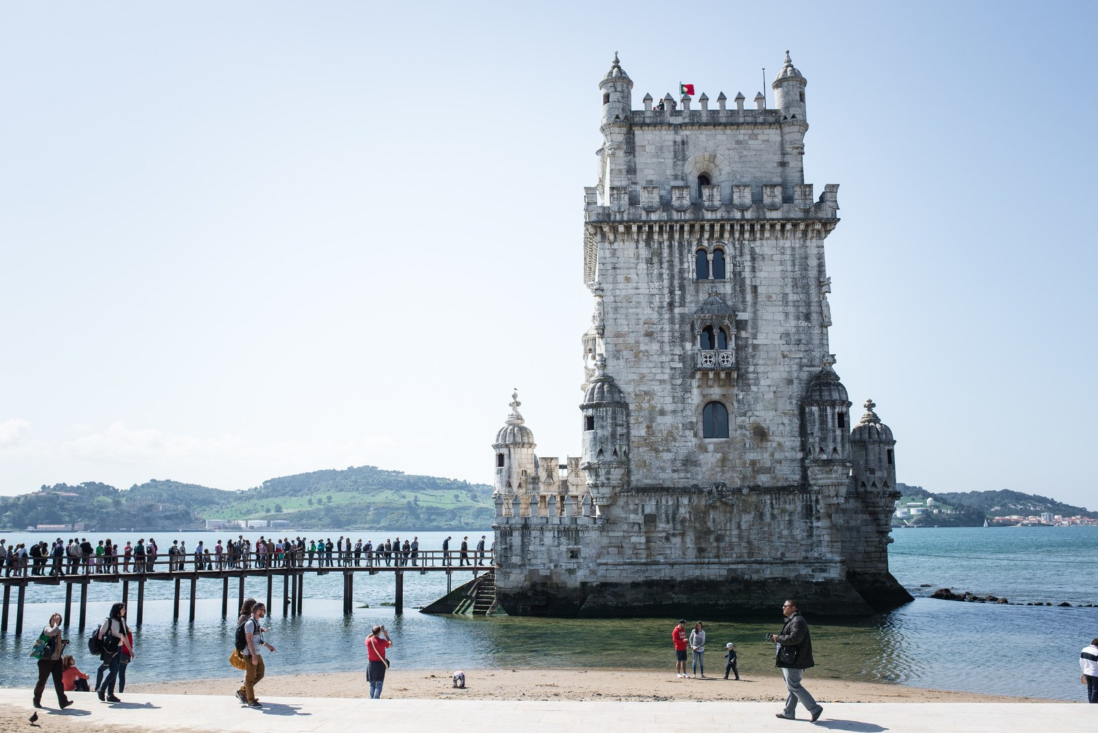 torre de belem bel m au portugal. Black Bedroom Furniture Sets. Home Design Ideas