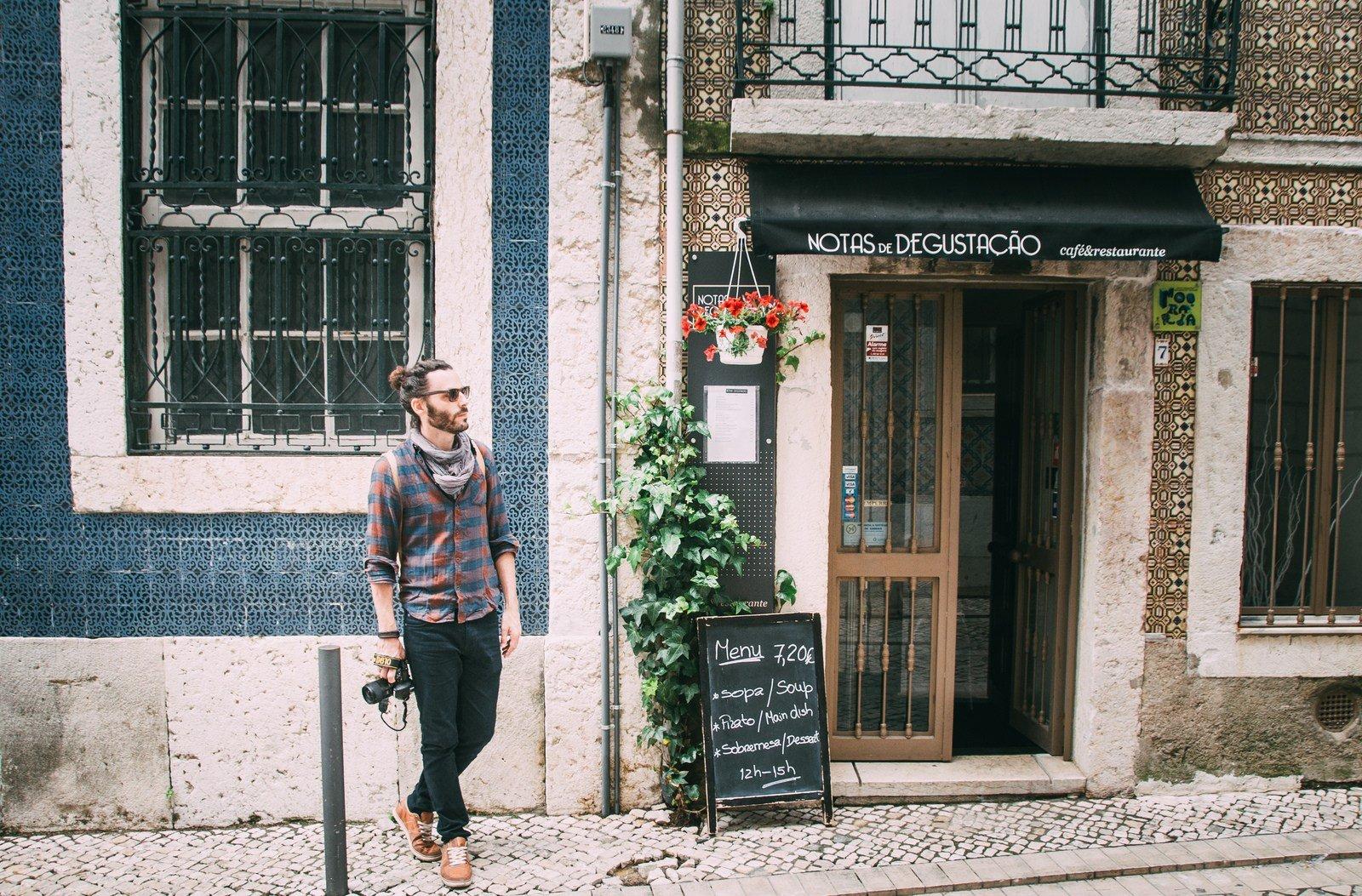Notas de Degustaçaos Lisbonne