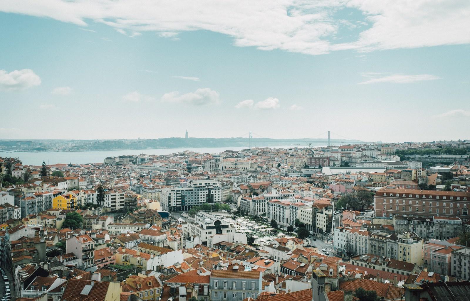 Panorama de Miradouro da Senhora do Monte Lisbonne