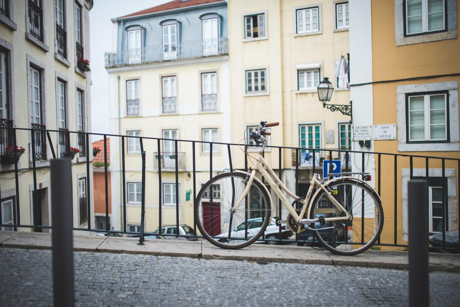 A vélo dans Lisbonne Lisbonne