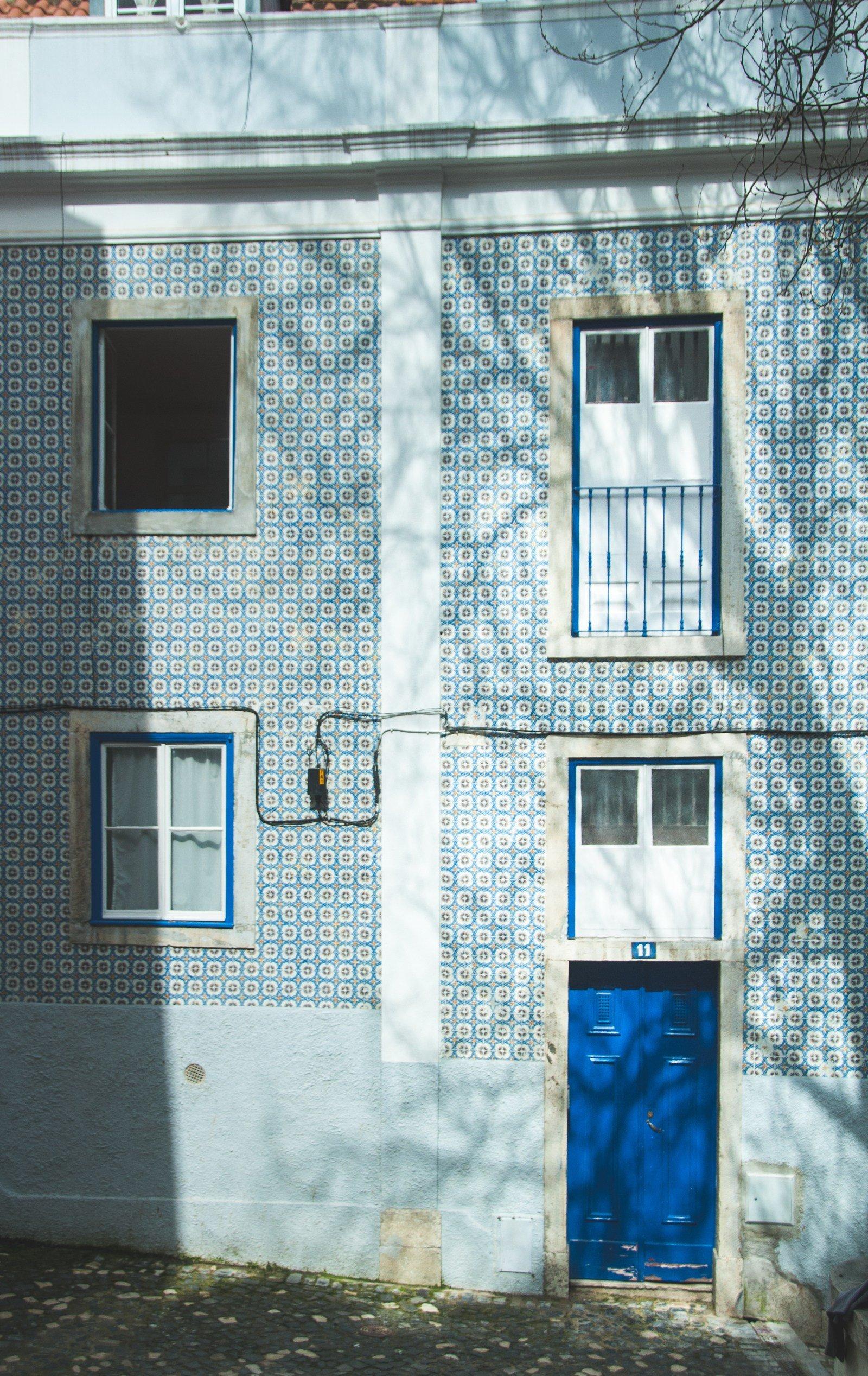 Azulejos à l'infini Lisbonne