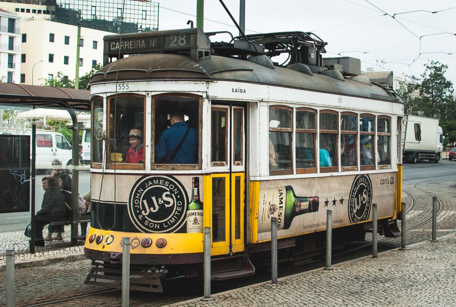 Le fameux Tram 28 Lisbonne
