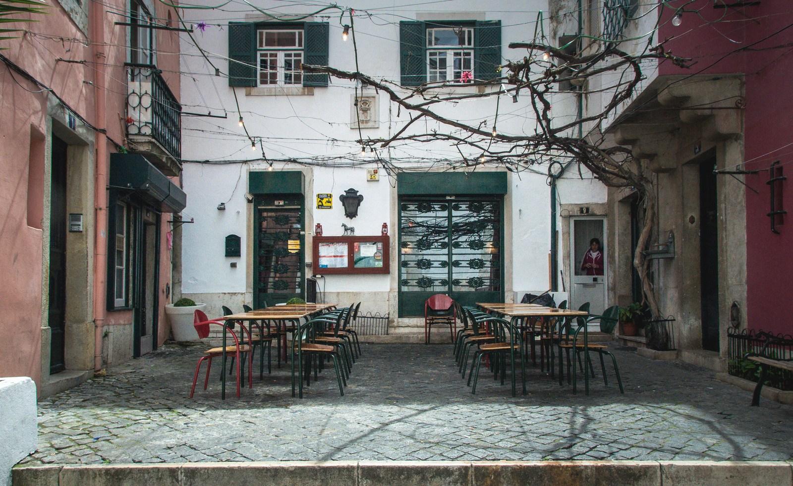 Petit restaurant de l'Alfama Lisbonne