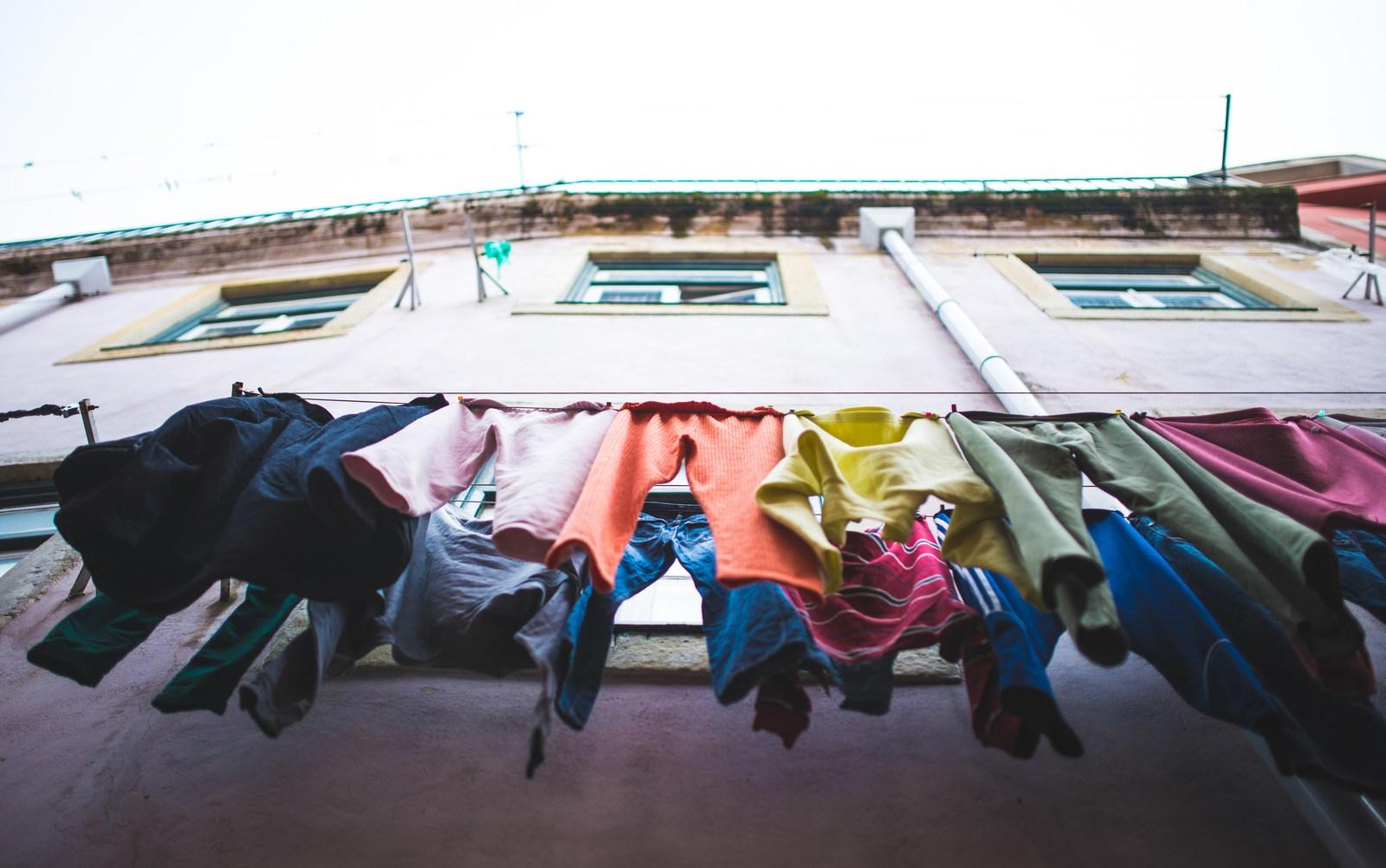 Linge aux fenêtres  Lisbonne
