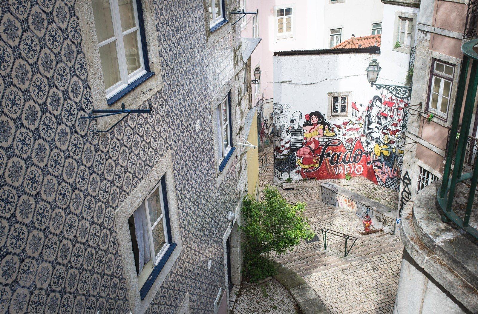 Street art de Lisbonne Lisbonne