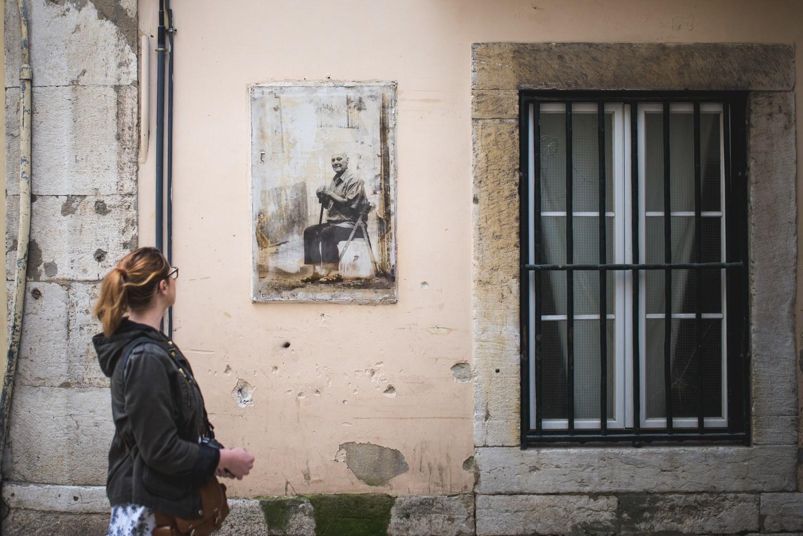 Portraits des gens du quartier Lisbonne