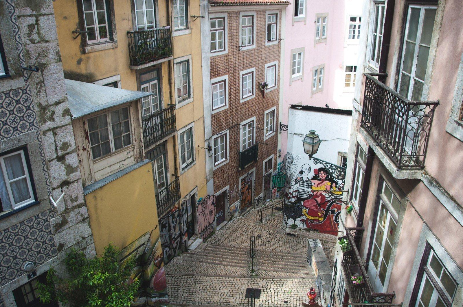 Un peu de street art Lisbonne