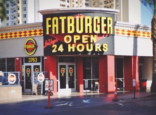 Fat burger restaurant