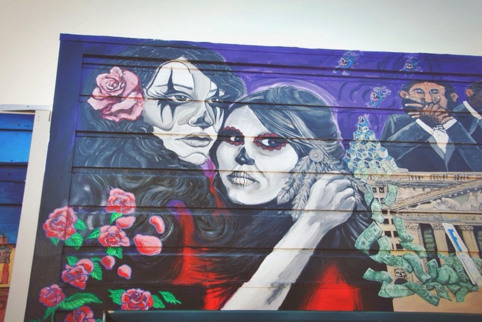 Fresque à San Francisco San Francisco