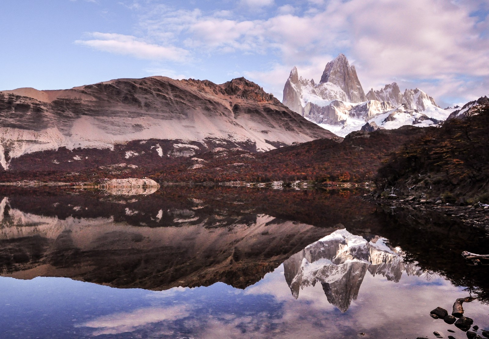 Reflets du Cerro Fitz Roy El Chaltén