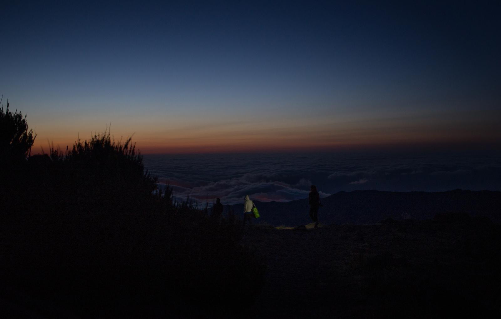 Quasiment nuit noire Pico do Arieiro