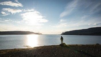 Vue sur les fjords environnants