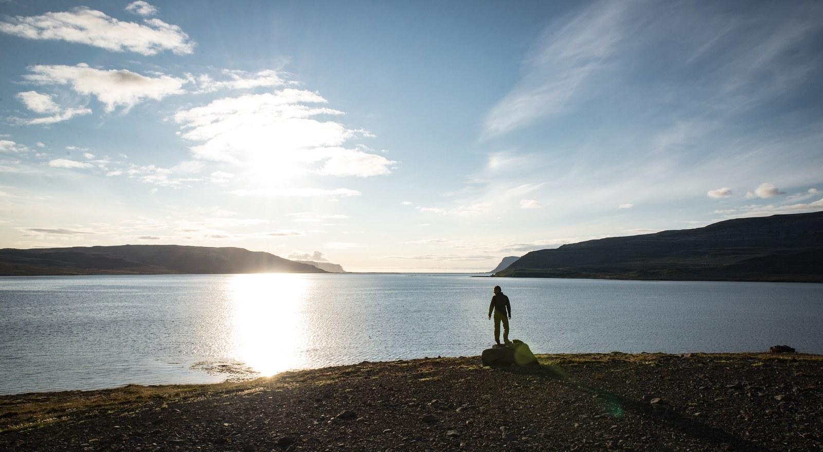 Vue sur les fjords environnants Örlygshafnarvegur
