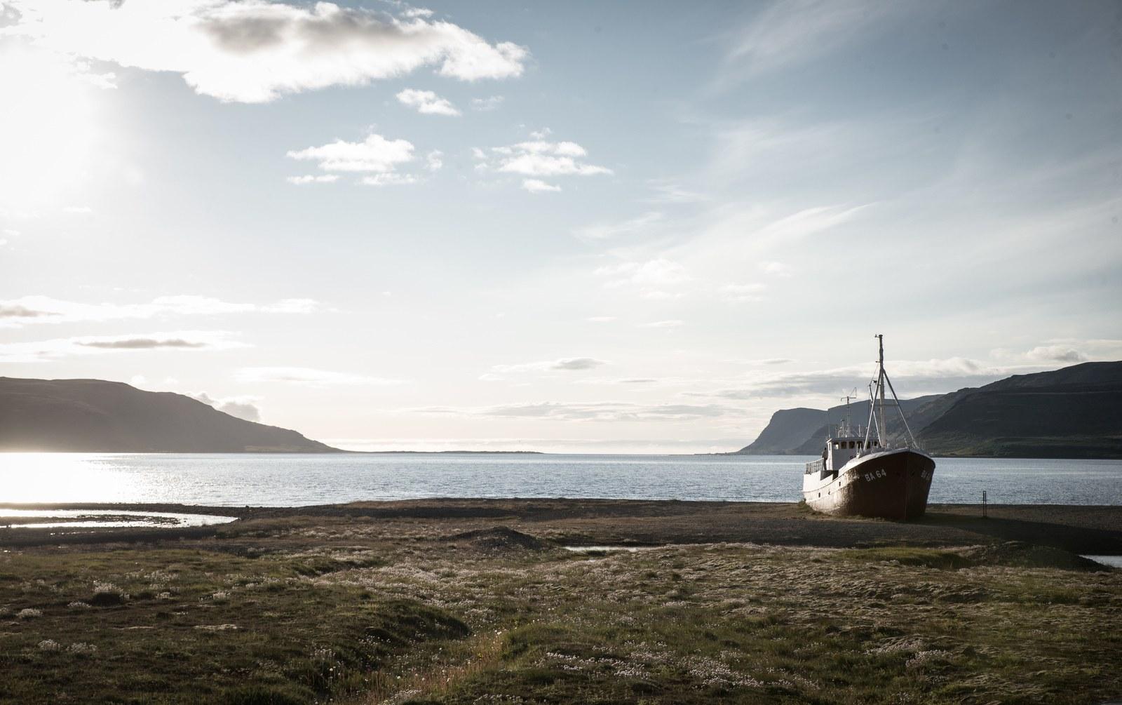 Au coeur de Patreksfjörður Örlygshafnarvegur