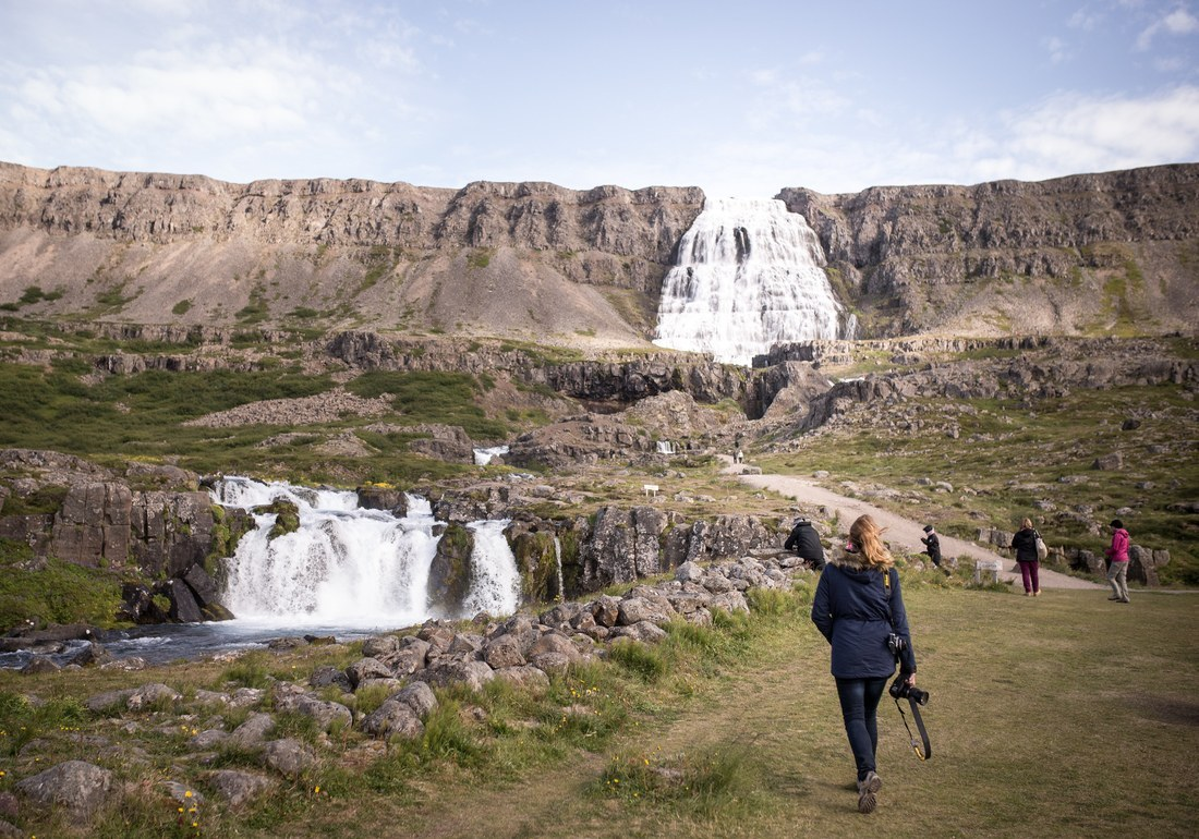 Manue en direction de Fjallfoss