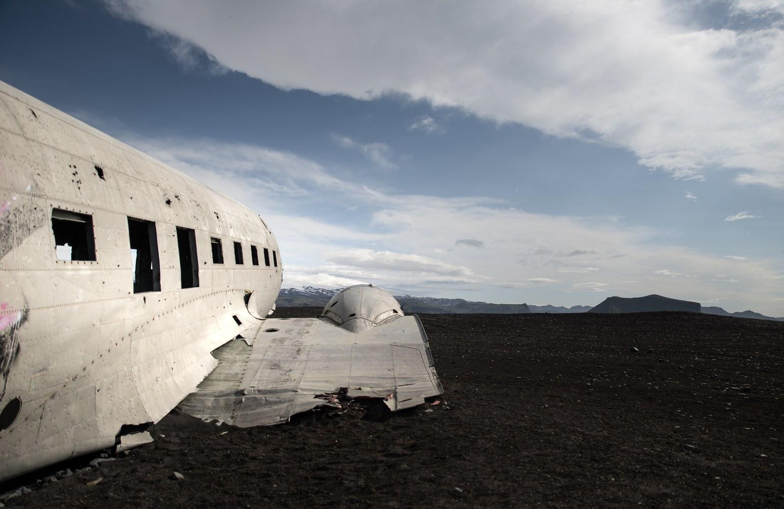 L'avion abandonné d'Islande Solheimasandur