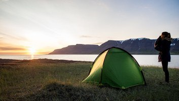 Camping sauvage dans les fjords