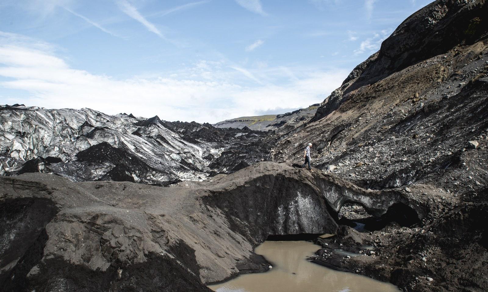 Un bout de glacier  Sólheimajökull