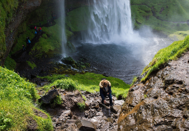 Photos de chutes d'eau en Islande
