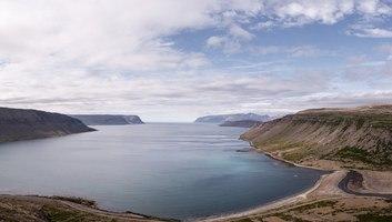 Paysage des fjords islandais