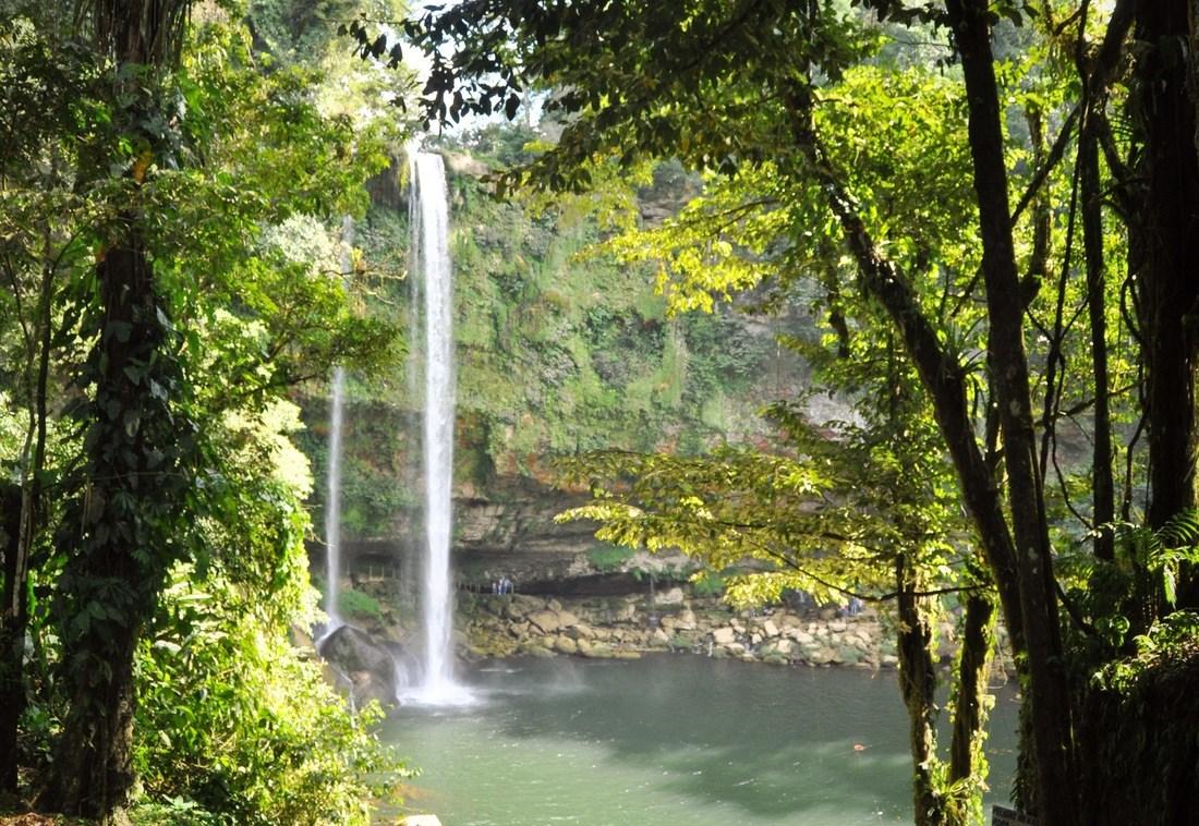 Cascades de Misol Ha au Chiapas