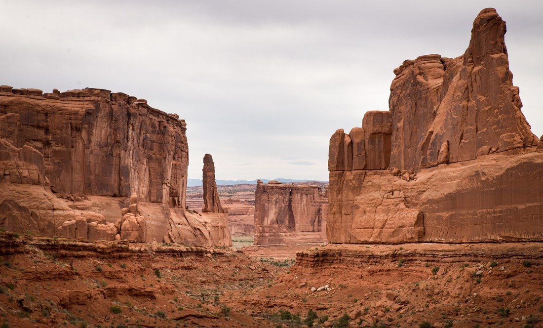 Park Avenue viewpoint, Arch National Park