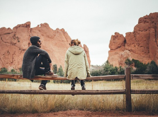 Seb et Manue, Garden of the Gods, USA
