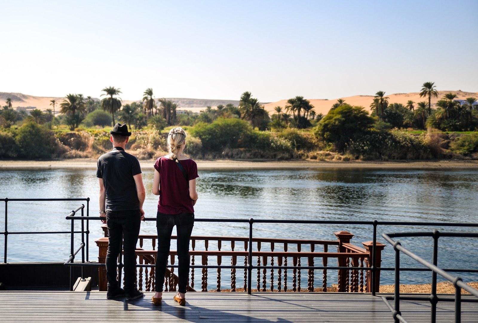 Profiter des rives du Nil Le Nil