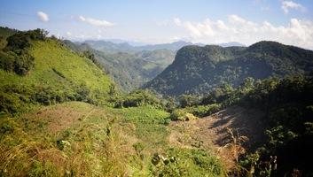 Route de montagne du chiapas